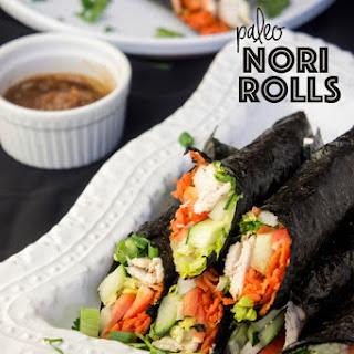 Paleo Nori Rolls Recipe