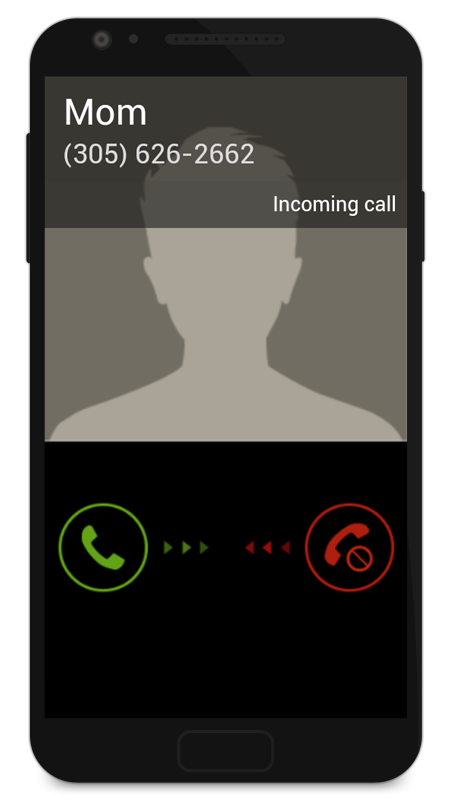 Screenshots of Fake Call 2 for iPhone