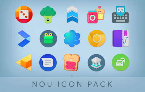 Download NOU - Ultimate Material Icon Pack APK latest version app for  android devices