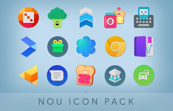 NOU – Icon Pack v1.8