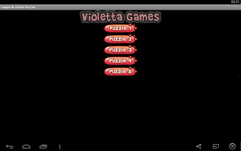 Violeta Puzzle Games for PC and MAC