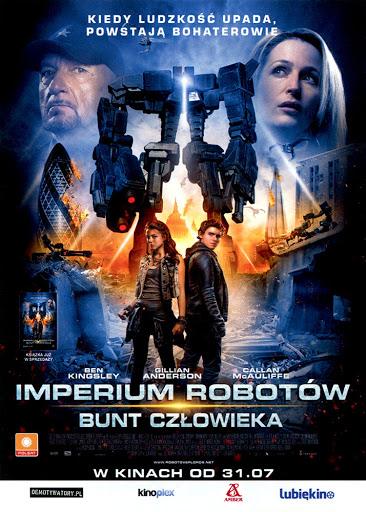 Przód ulotki filmu 'Imperium Robotów. Bunt Człowieka'