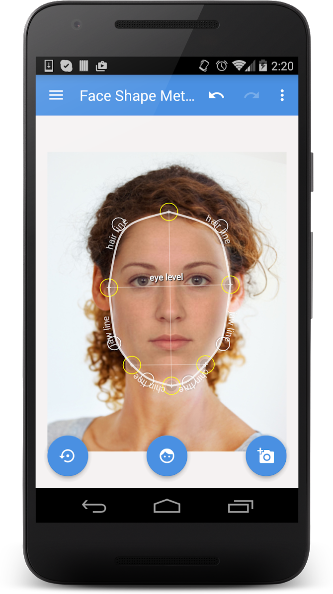 My Face Shape Meter Android 1