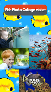 Fish Photo Collage Maker - náhled