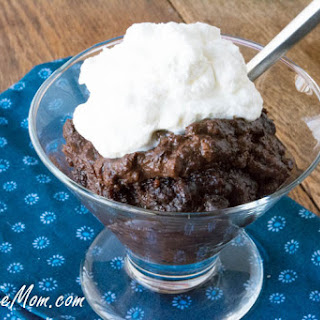 Crock Pot Sugar Free Chocolate Molten Lava Cake
