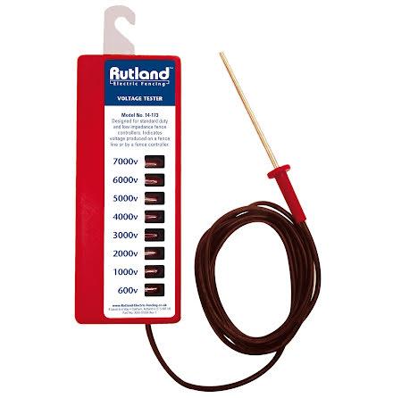 Stängseltestare Rutland 8 steg 600-7000 Volt
