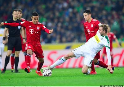 Thiago Alcantara (Bayern) absent pour le choc à Dortmund