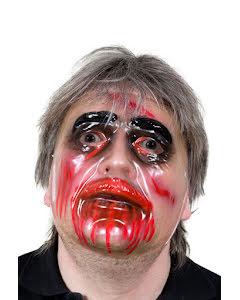 Zombiemask, genomskinlig