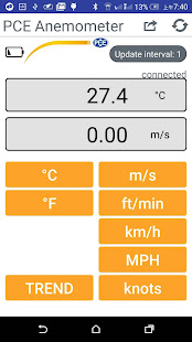 PCE Anemometer - náhled