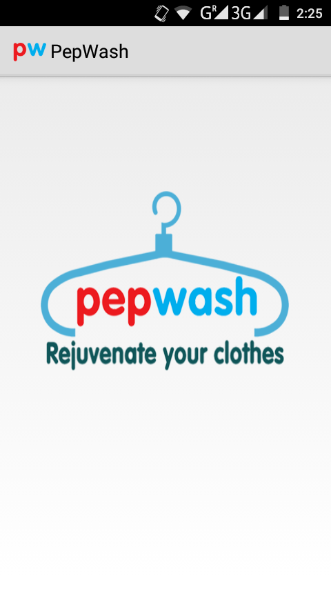 Pepwash - Laundry Service- screenshot