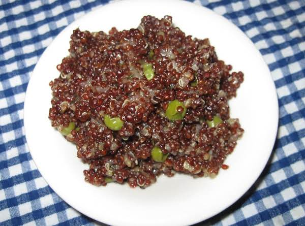 Flavorful Red Inca Quinoa, Millie's Recipe