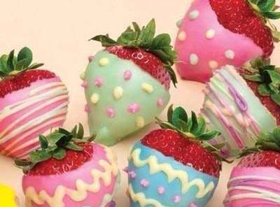 Chocolate Covered Strawberries For Easter!! Recipe