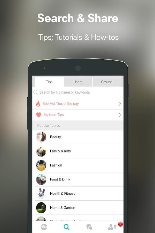 Trusper Tips- screenshot