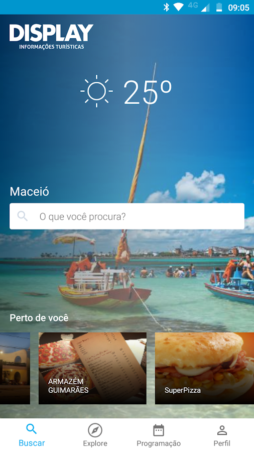 Display Turismo- screenshot