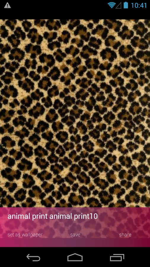 Cute Animal Print Wallpapers - Android Apps on Google Play