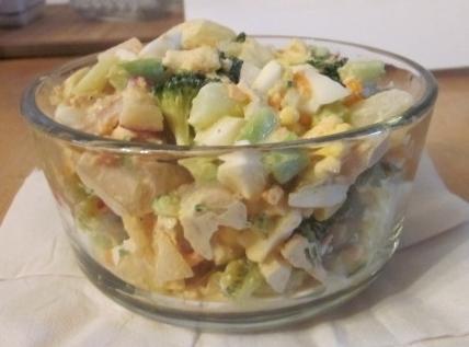 Chicken-brocolli Salad Recipe