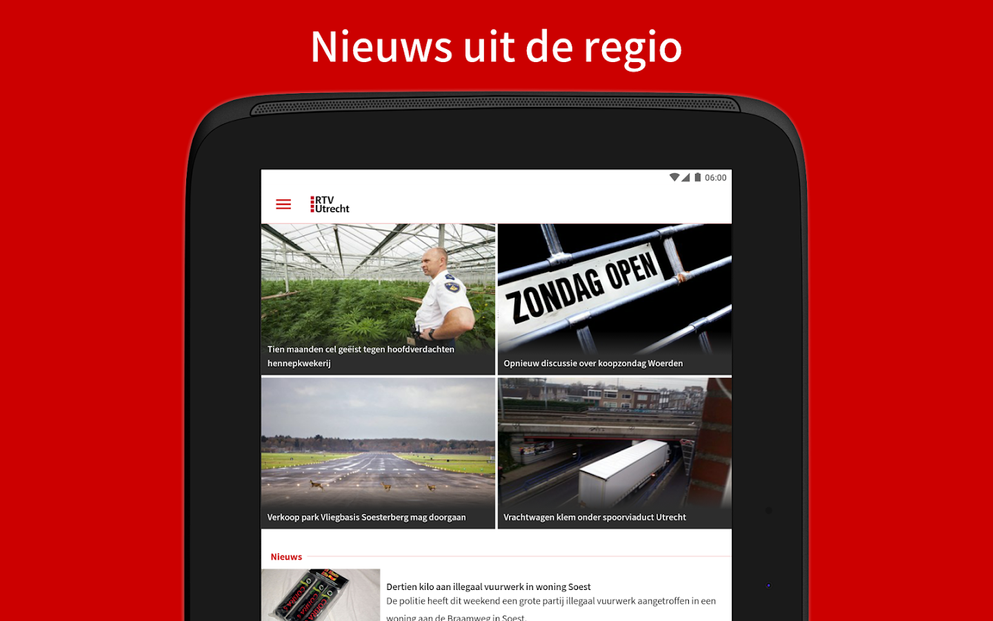 RTV Utrecht- screenshot