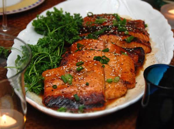Perfect Glazed Salmon