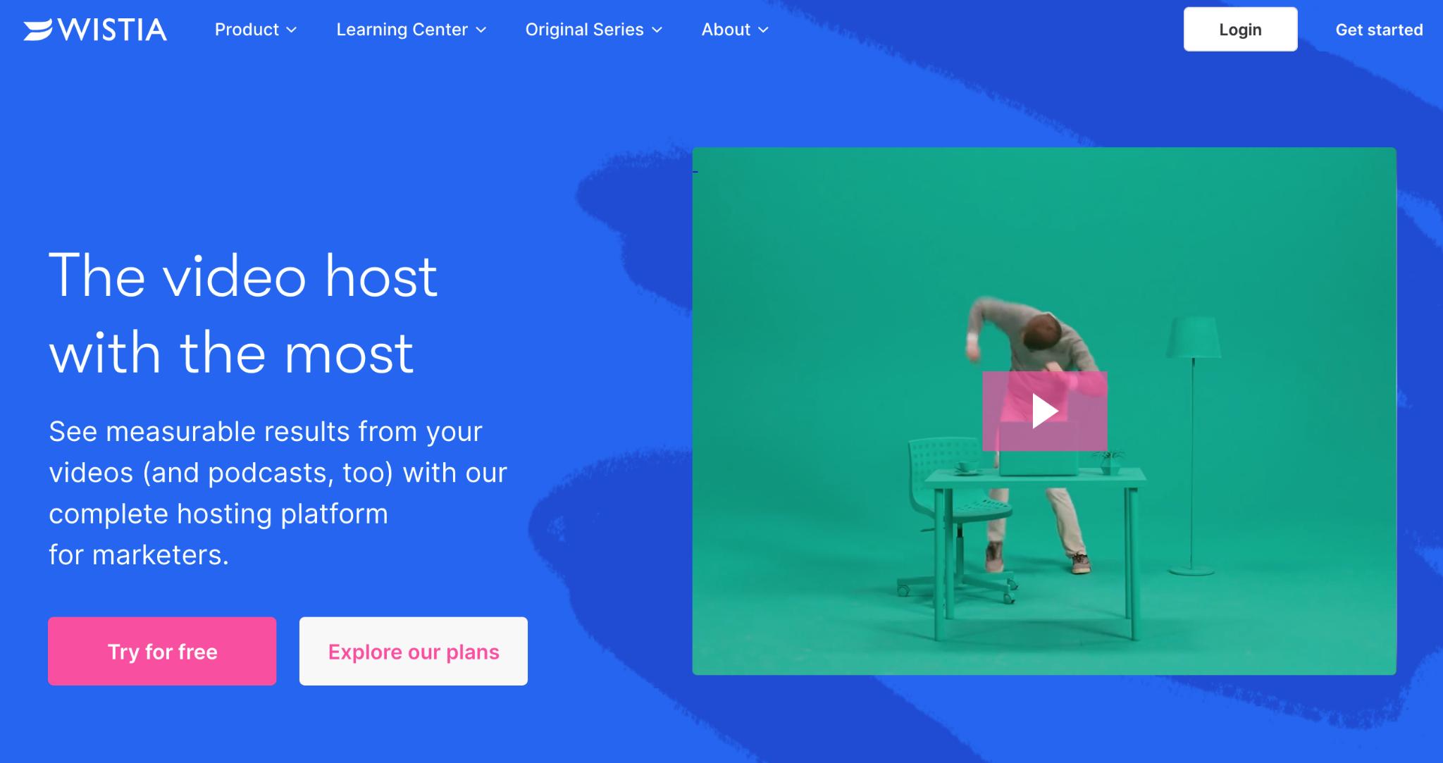 background videos in web design by wistia
