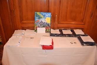 Photo: Silent Auction items to raise money for ASHRAE Research