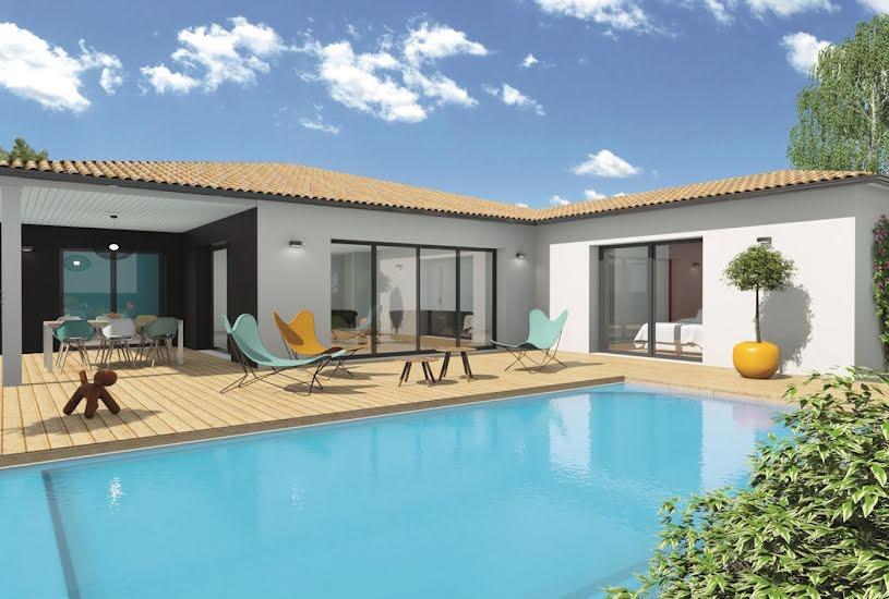 Vente Terrain + Maison - Terrain : 600m² - Maison : 131m² à Léognan (33850)