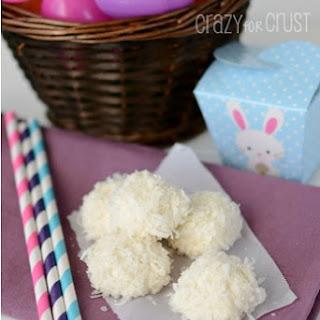 Marshmallow Coconut Bunny Tails