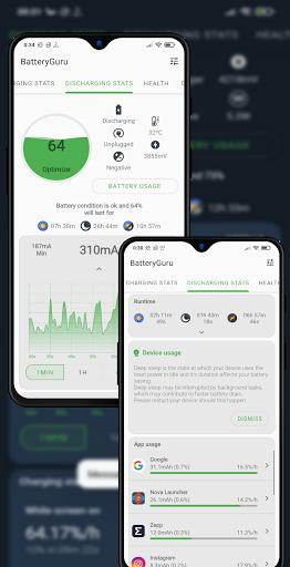 Battery Guru - Battery Monitor - Battery Saver screenshot 1