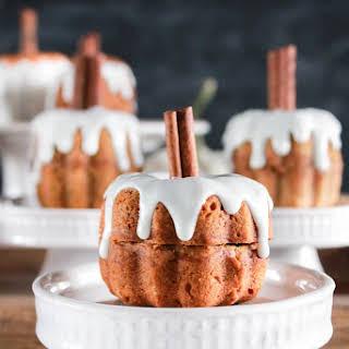 Pumpkin Spice Latte Bundt Cakes.