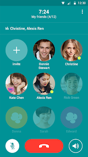 Popcorn Buzz: Free Group Calls- screenshot thumbnail