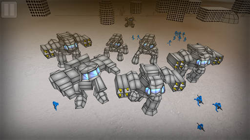 Stickman Mech Battle Simulator  captures d'écran 2