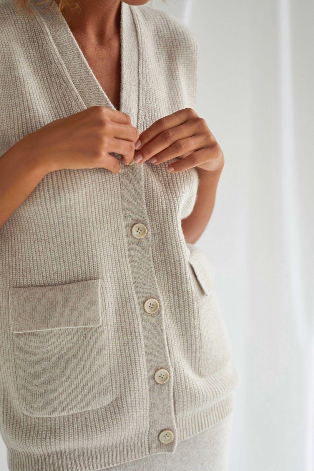 Buttoned Vest