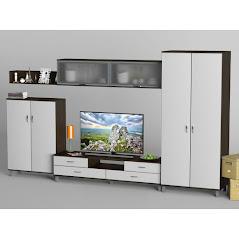 Гостиная-1 мебель разработана и произведена Фабрикой Тиса мебель