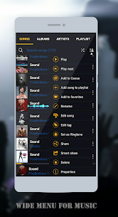 BlackPlayer Music Player App Download For Android 2