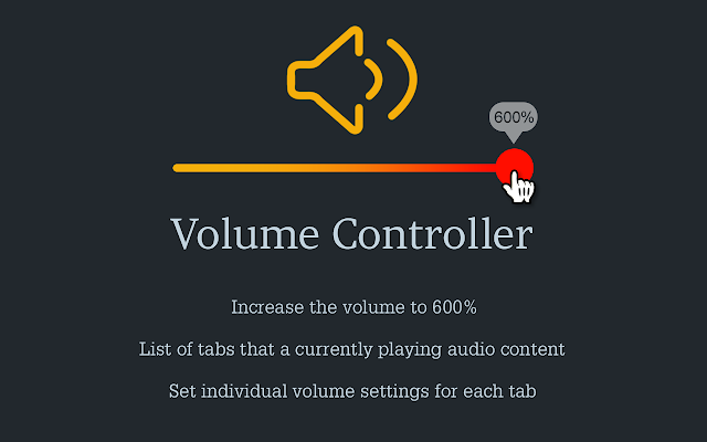 Volume Controller - Chrome Web Store