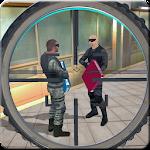 Military Sniper Strike Attack with Commando Kill Icon