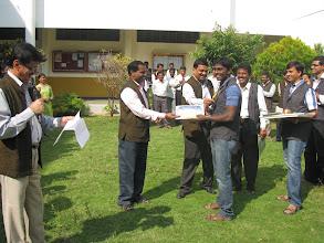 Photo: Girish got 1st place in Dasara Nada Kusthitournamentheld atMysore