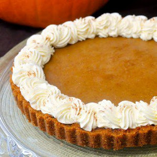 Bailey's Irish Cream Pumpkin Tart