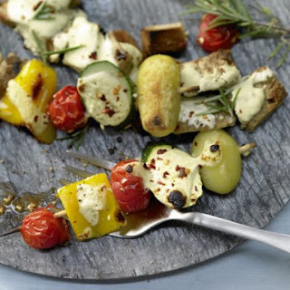 Vegetable Kebabs With Potatoes Recipes