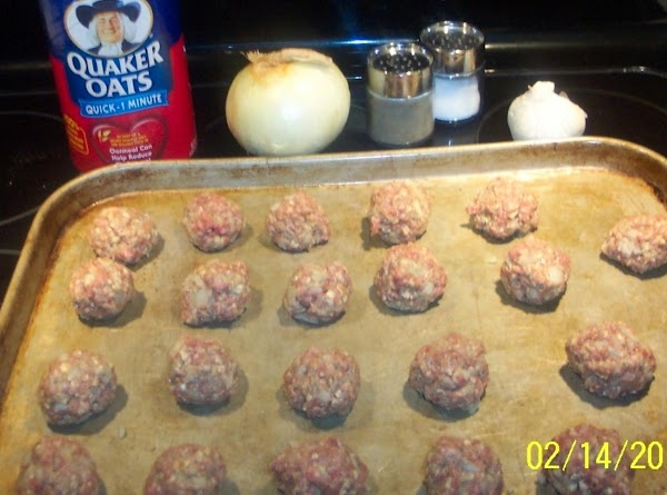 Mix together all above ingredients  Using a tablespoon  make the small meatballs. This recipe...