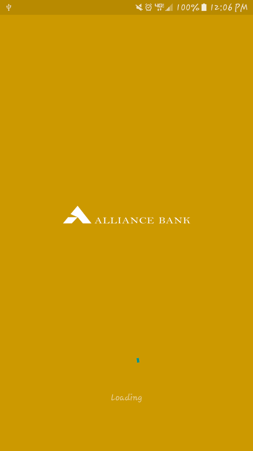 Alliance Bank- screenshot