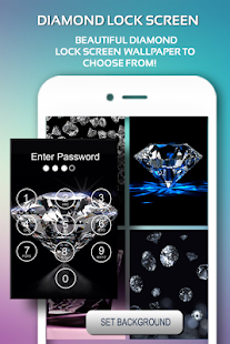 Diamond Passcode Lock Screen - náhled