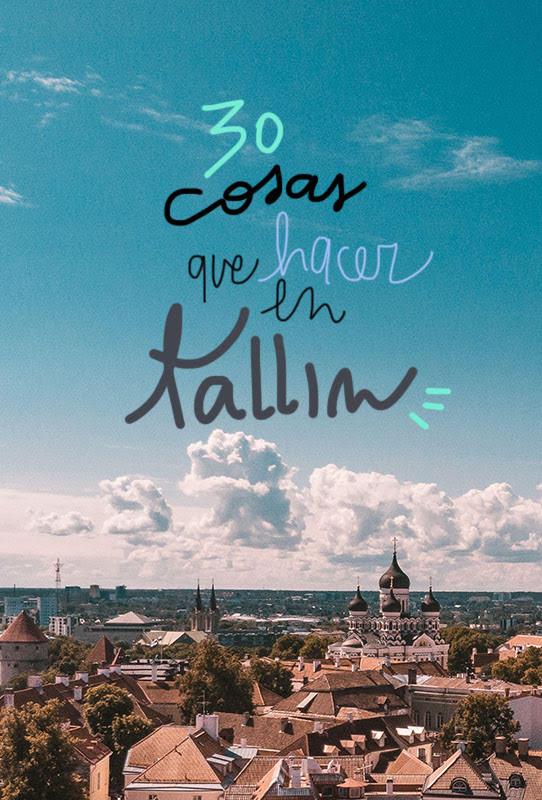 que ver y hacer en Tallin