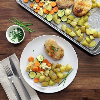 Simple Sheet Pan Pork Chops Recipe