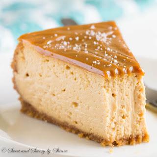 Decadent Dulce de Leche Cheesecake.