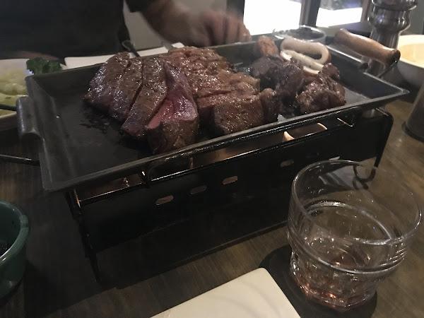 很好 價格不貴 可以 負責切肉的妹妹很漂亮 肉類味道不錯 如果能夠剛剛煎熟再上更好