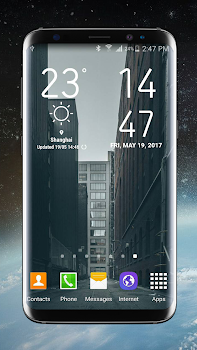 Weather Widget Galaxy S8 Plus