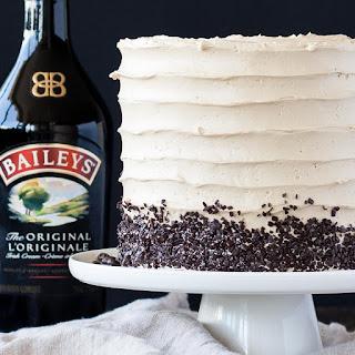 Coffee & Baileys Layer Cake.