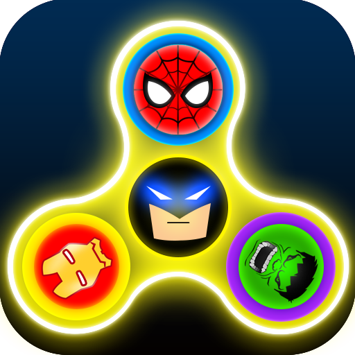 Super Hero Fidget Spinner - Avenger Fidget Spinner