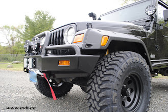 Photo: Toyo M/T Open Country ARB Front Bumper with WARN Winch