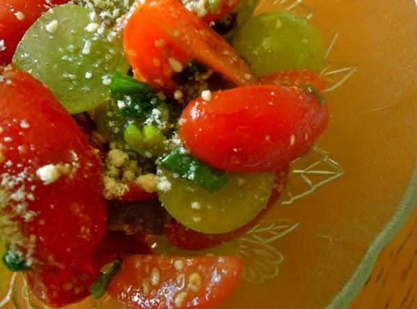 Cherry Tomato Grapes Salad Recipe